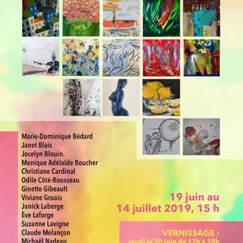 Exposition collective à la Galerie!