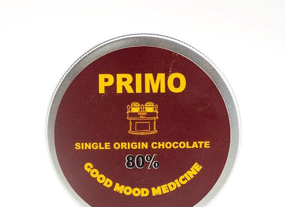 "PRIMO 80% Dark ""Good Mood Medicine"" 100gr"