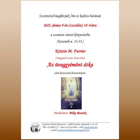 Könyvbemutató - Kristin M. Furrier: Az üveggyémánt átka