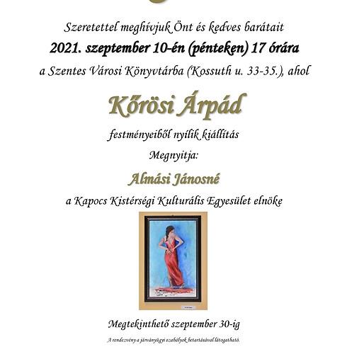 Kiállítás: Kőrösi Árpád festményeiből