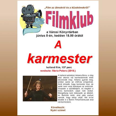 Filmklub: A karmester