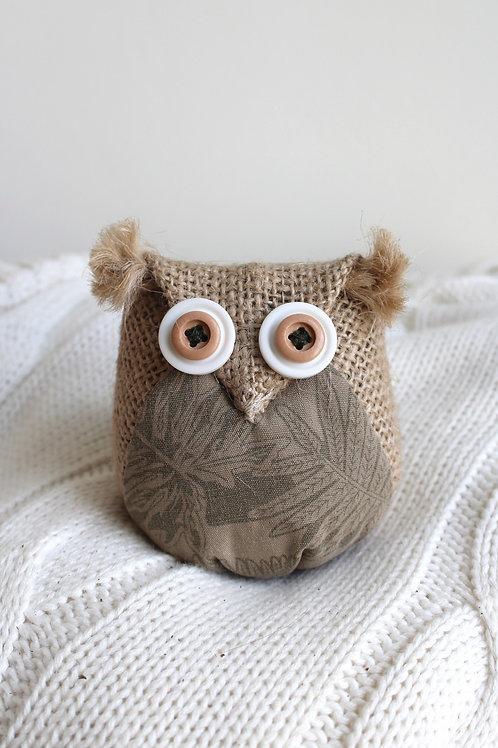 Tawny Lavender Owl