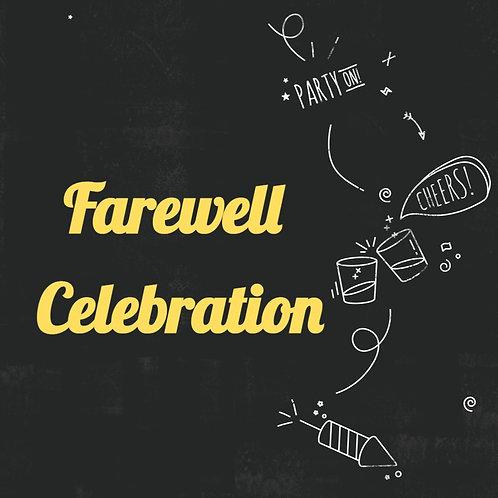 Farewell Celebration