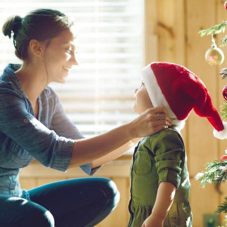 Razvijanje kreativnosti kod dece, novogodišnji ukrasi