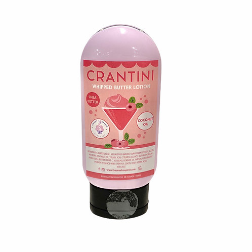 Crantini whipped butter lotion