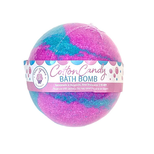 Cotton Candy Bath Bomb WS