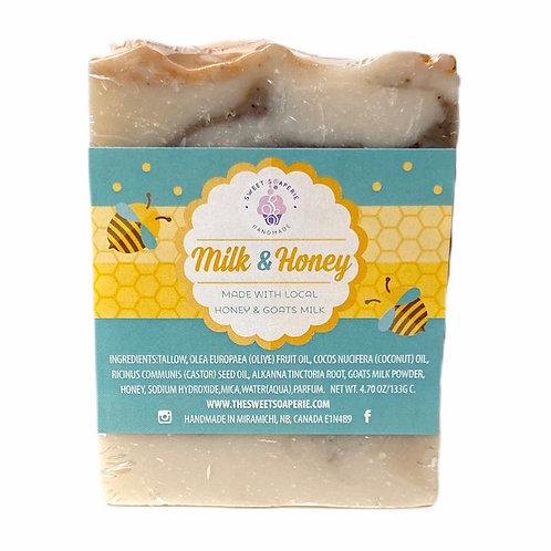 Goats Milk & Honey soap