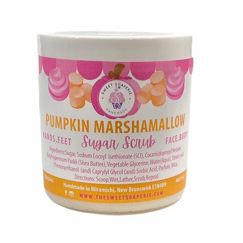 Pumpkin Marshmallow Sugar Scrub
