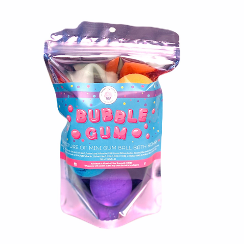Bubble Gum Bath Bomb Bag