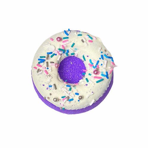 Berry vanilla donut