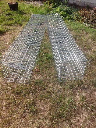 BOLT TRAPS FOR RABBITING/FERRETING