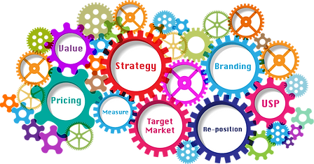 Business Coach helping to creat a marketing Strategy