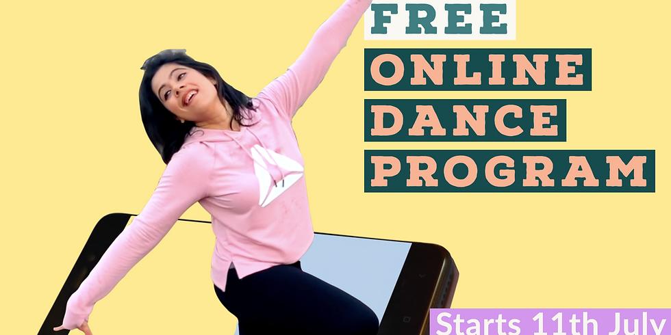 Online Dance Program - 1 Month