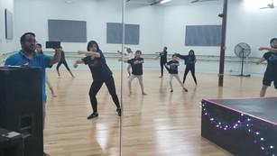 Kalari Influenced Warrior dance Intermediate girls