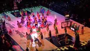 Bollywood dance at Atlanta Hawks Game