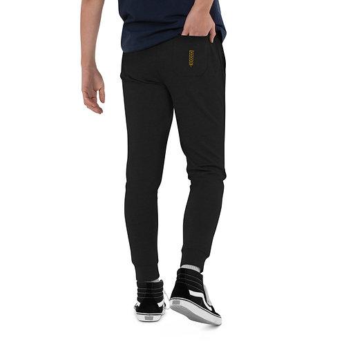Men's slim fit joggers - Leaf Logo
