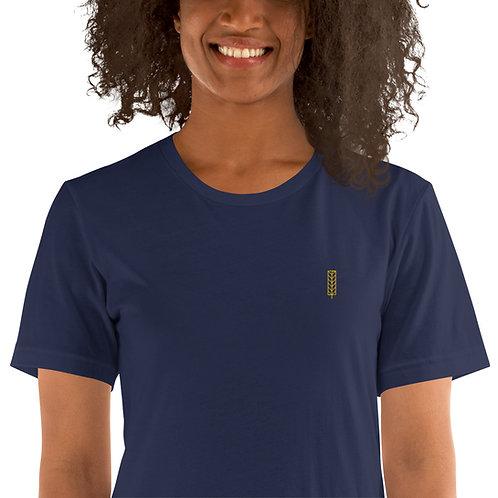Women's Premium Crew T-Shirt - Leaf Logo