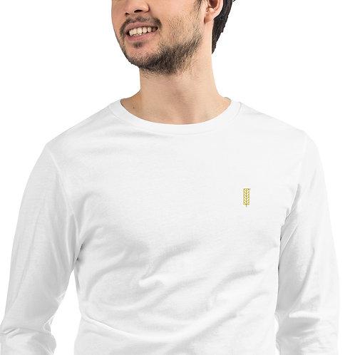 Men's Long Sleeve Tee - Leaf Logo