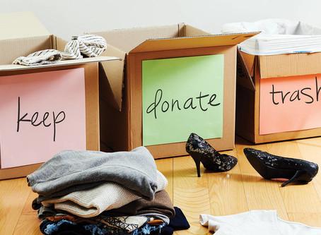 Decluttering Your Home in Wareham: The 5 Bin Method