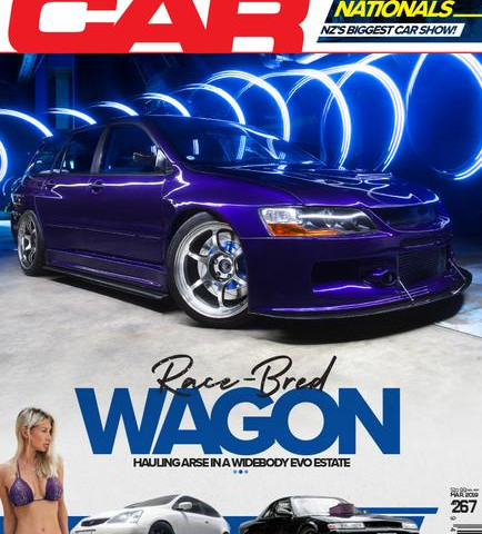 It made the cover of Performance car!