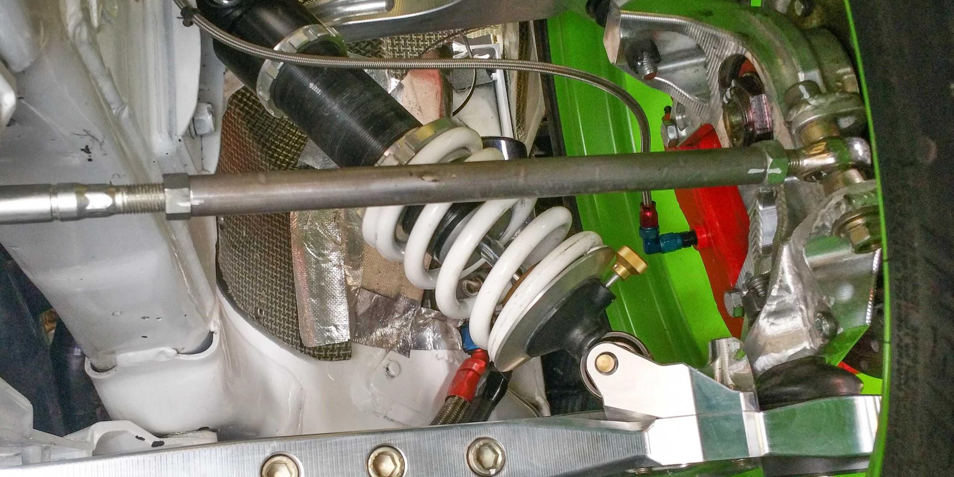 Suspension tuning V8 Corvette drift car -Japan