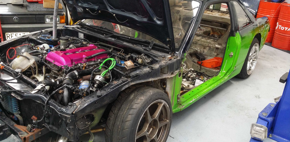 S13 Full build prep