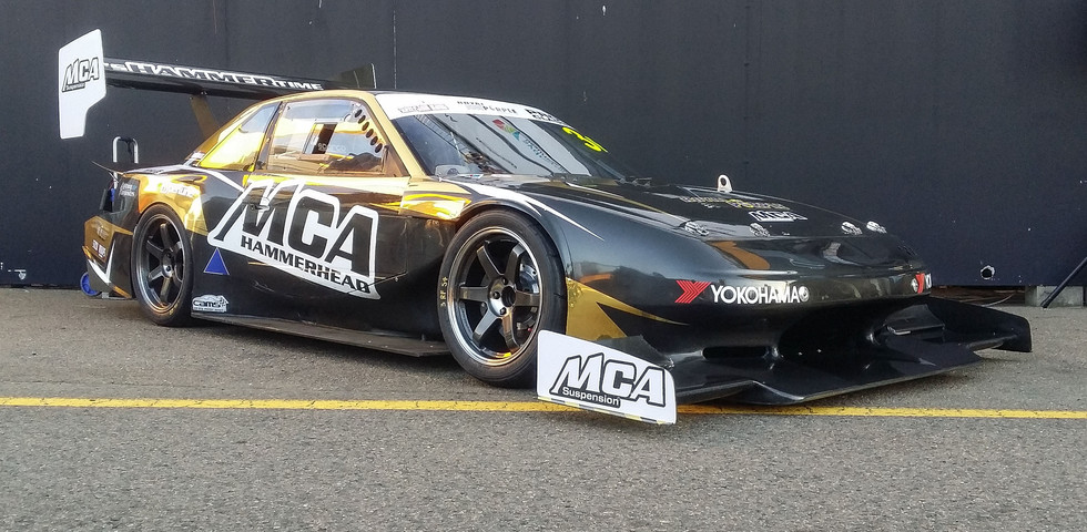 "MCA suspension ""Hammerhead"" pre event prep and event spanner work. Driven by Earl Bamber - Shane van Gisbergen - Tim Slade - Glenn Seton - Murray Coote - Link Attached"