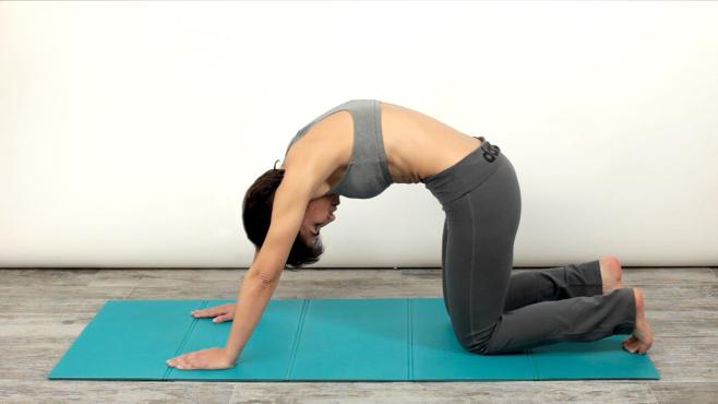 Stretching della schiena