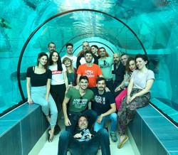 Tunnel Y-40 uscita di gruppo