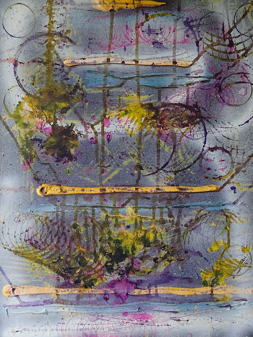 Recession | Acrylic on canvas | 40 cm x 50 cm
