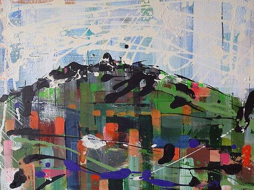 Drygarn | Acrylic on canvas | 50 cm x 40 cm
