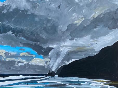 Lluniau y Stiwdio   Studio Paintings