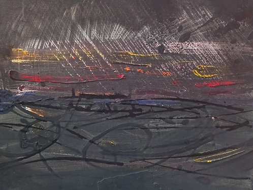 Seascape III | Acrylic on canvas | 40 cm x 30 cm