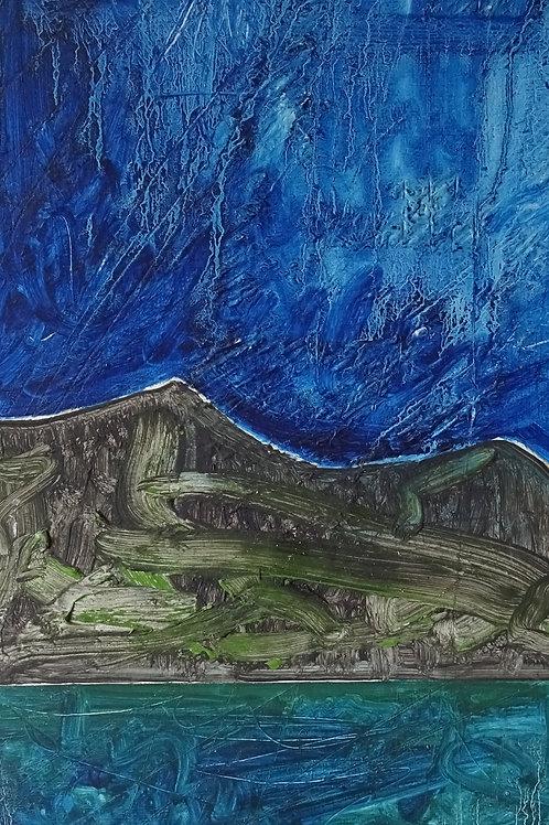 Pembrokeshire Coast | Acrylic on board | 27 cm x 60 cm