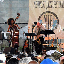 Bob Mover at the Newport Jazz Festival