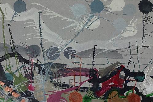 County Kerry III | Acrylic on canvas | 38 cm x 20 cm