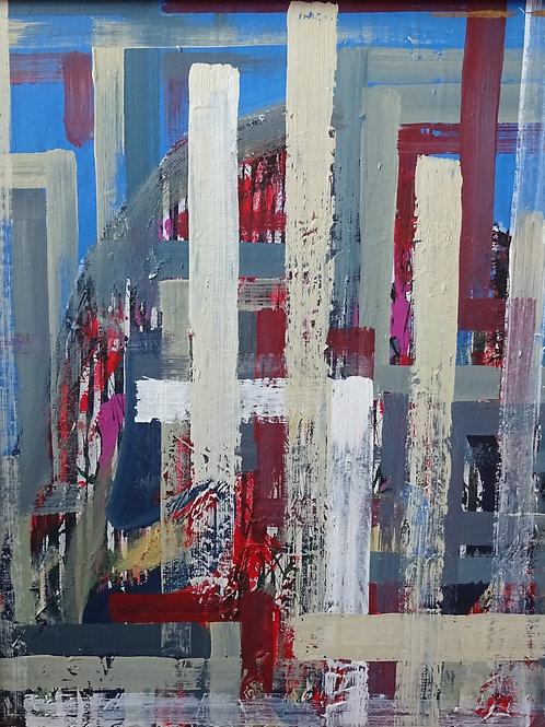Black Rock Preseli | Acrylic on canvas | 50 cm x 50 cm