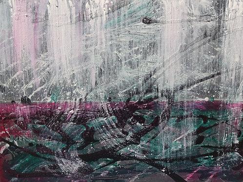 Seascape IV | Acrylic on canvas | 40 cm x 30 cm