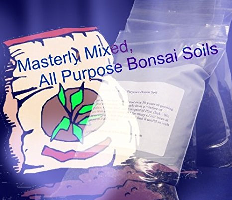Masterly Mixed, All Purposes Bonsai Soil - Best Value, Economy Package