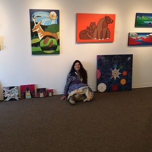 New Artist at Bearclaw Gallery