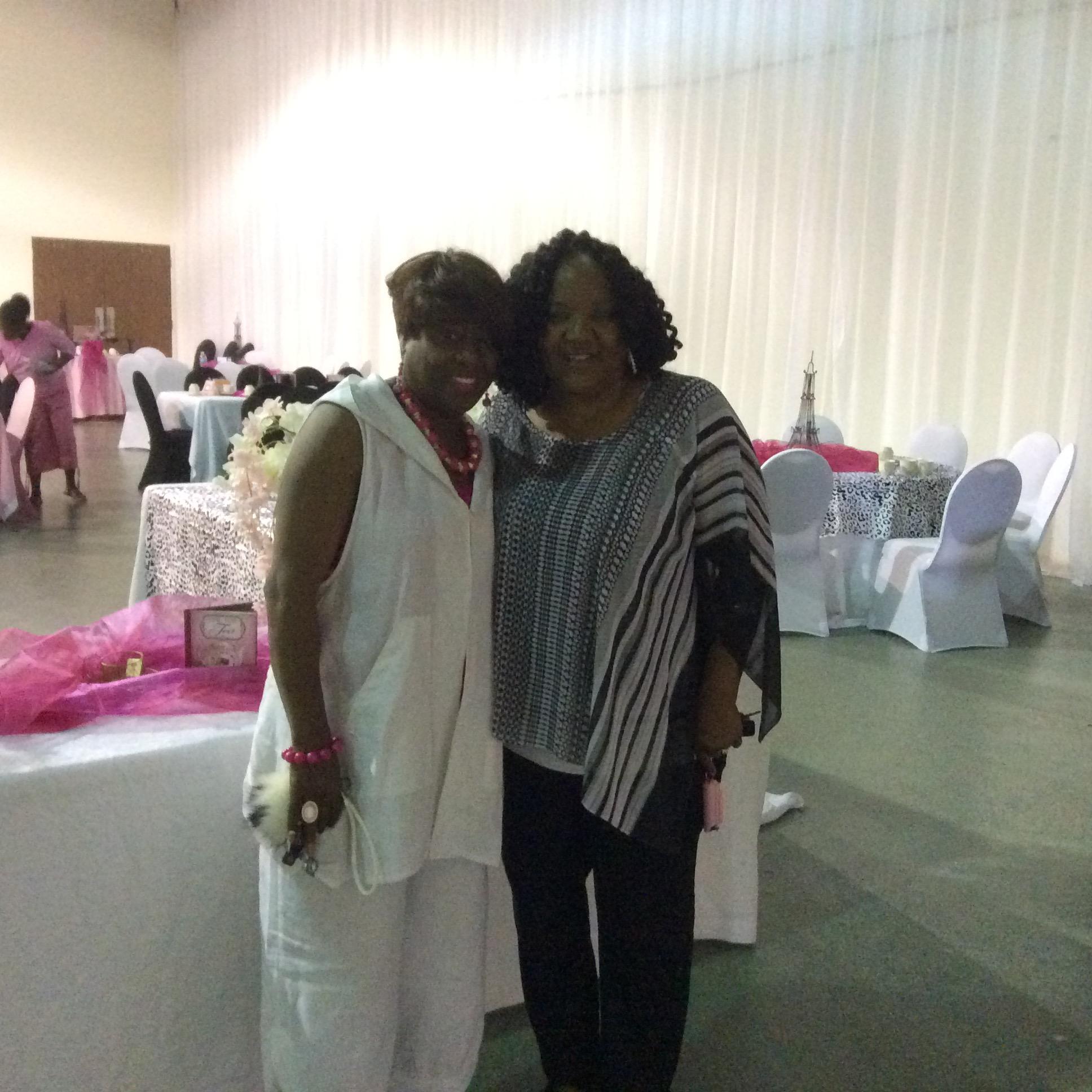 Deneen & Pastor Gloria Fenceroy