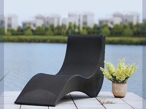 Уличная мебель лежак 1