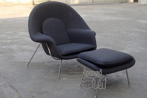 Кресло Womb end ottoman