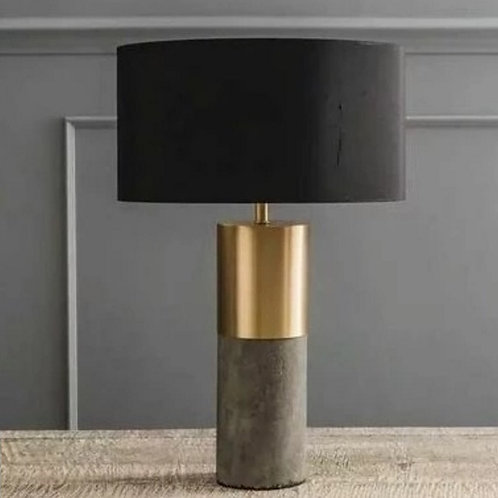 Настольная лампа Леонард цемент