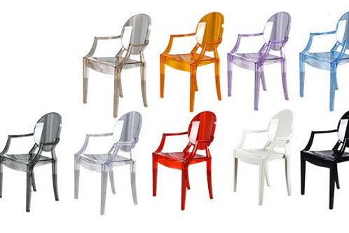 Прозрачный стул Louis ghost