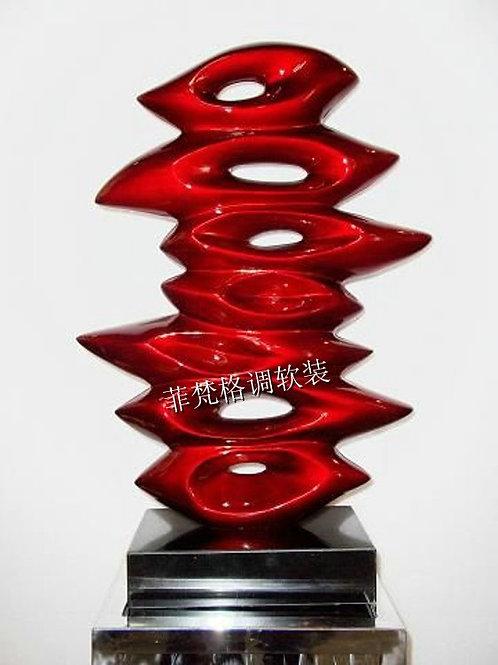 Абстрактная скульптура