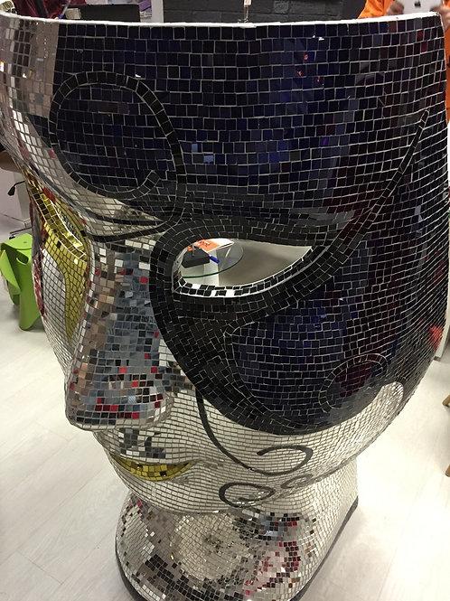 Кресло маска мозаика