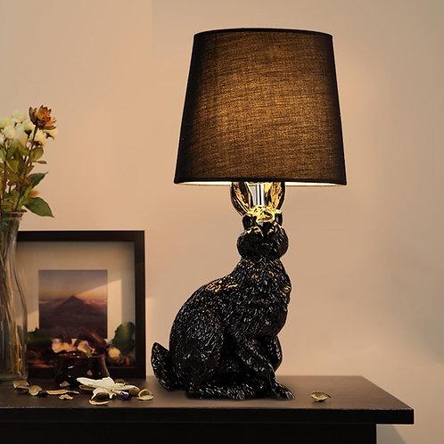 Настольная лампа кролик