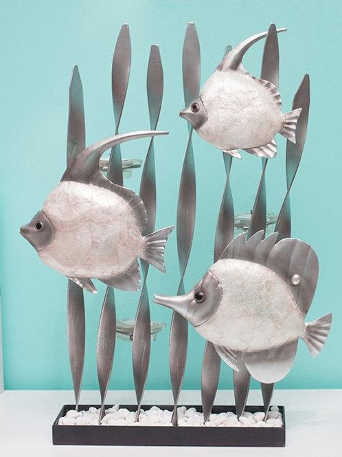 Рыбы подсвечник