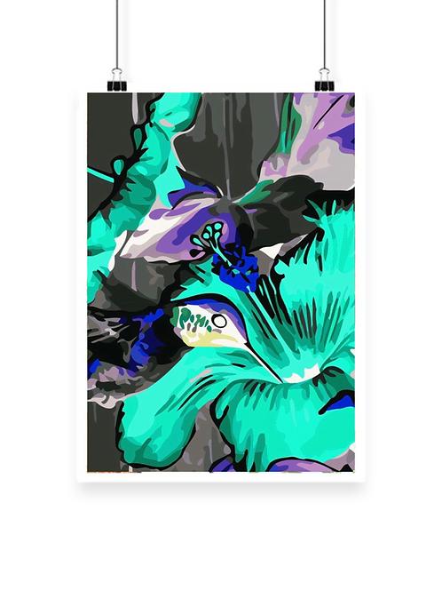Hummingbird Hue Art